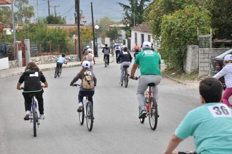 Ποδηλατοδρομία την Κυριακή στην Κόρινθο